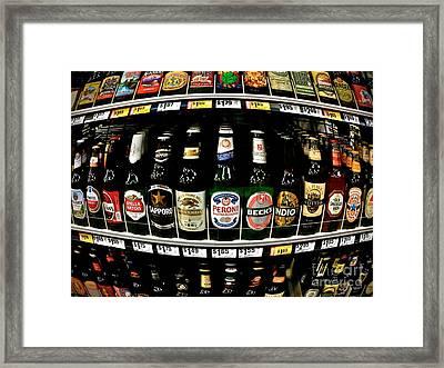 Beer Of Choice II - No.9188 Framed Print