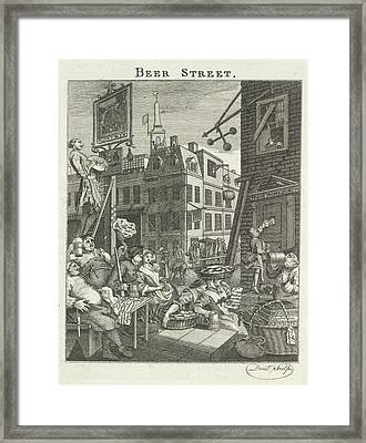Beer Street Framed Print