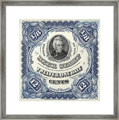 Beer Tax Stamp Framed Print