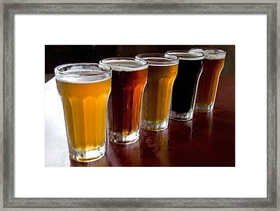 Beers  Framed Print by Dennis Cox WorldViews