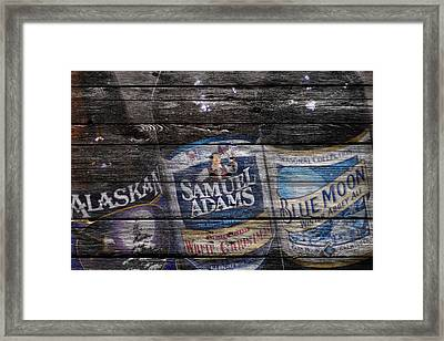 Beers Framed Print by Joe Hamilton