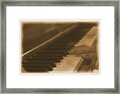 Beethoven's Ghost Framed Print by Dan Sproul