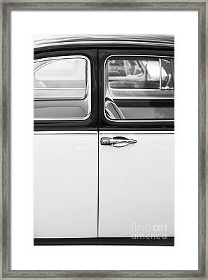 Beetle Door Abstract Framed Print by Tim Gainey