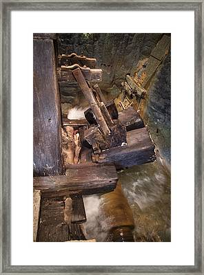 Beetling Engine Framed Print by Akos Kozari