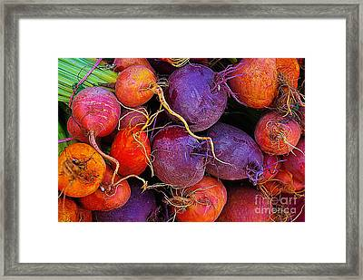 Beets Me  Framed Print by John S