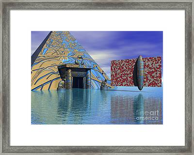 Before And After Us - Surrealism Framed Print by Sipo Liimatainen