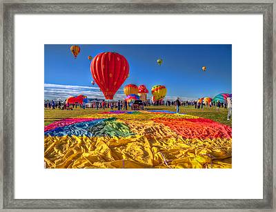 Before Inflation Framed Print by Tom Weisbrook