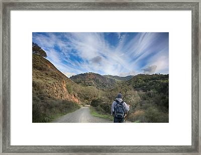 Before My Eyes Framed Print by Laurie Search