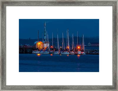 Before Night Fall Framed Print