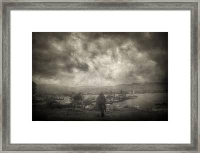 Before Storm Framed Print