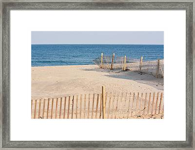 Before Summer Vacation Framed Print
