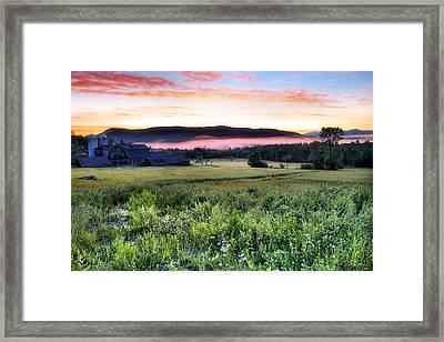 Before Sunrise In Sugar Hill Framed Print by Andrea Galiffi