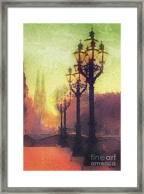 Before Sunrise Framed Print by Mo T