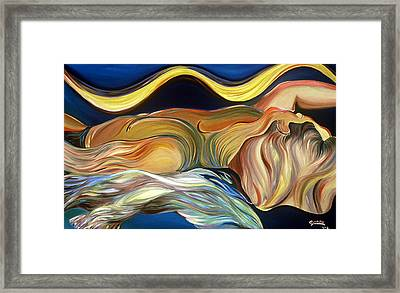 Before The Awakening Framed Print