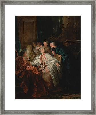 Before The Ball Jean-françois De Troy, French Framed Print by Litz Collection