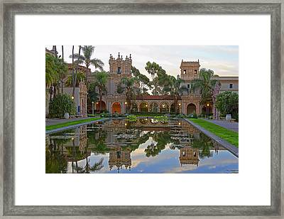 Framed Print featuring the photograph Before The Crowds by Gary Holmes
