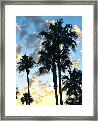 Before The Dusk Framed Print by Gem S Visionary