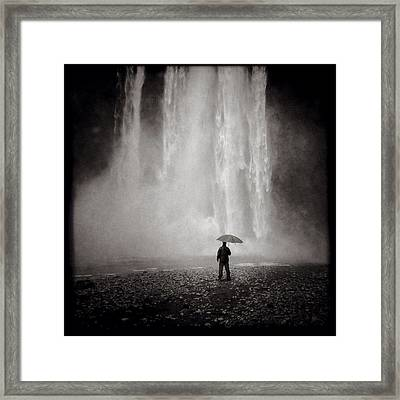 Before The Fall Framed Print by Dave Bowman