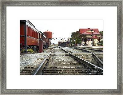 Before The First Passengers Framed Print by Paul W Faust -  Impressions of Light