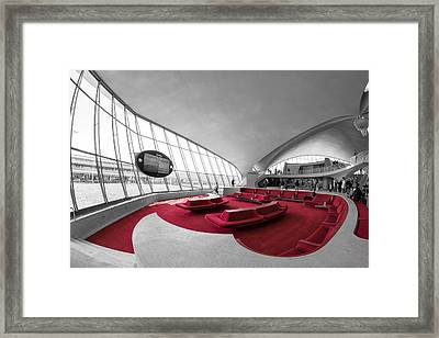 Before The Flight Framed Print