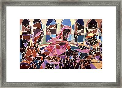 Before The Last Supper Framed Print
