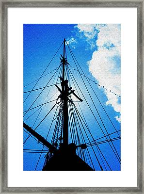 Before The Mast Framed Print by Mike Flynn