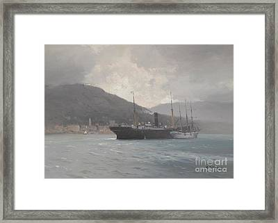Before The Rain Framed Print by Celestial Images