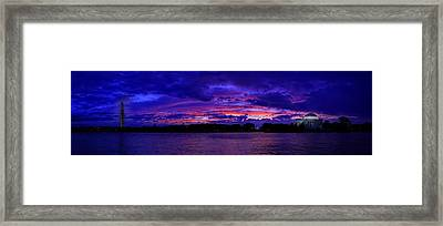 Before The Rain Framed Print by Metro DC Photography