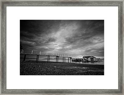 Before The Rain Framed Print