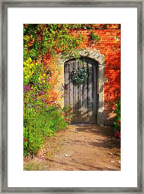 Framed Print featuring the photograph Before The Secret Garden by Michael Hope