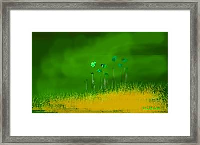 Before The Shower Framed Print by Asok Mukhopadhyay