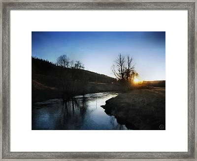 Before The Snow Framed Print