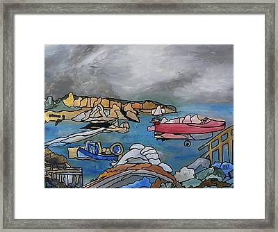 Before The Storm Framed Print by Barbara St Jean