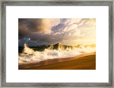 Framed Print featuring the photograph Before The Storm by Eti Reid