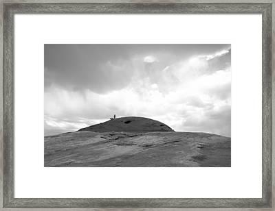 Before The Storm Framed Print by Julie Niemela