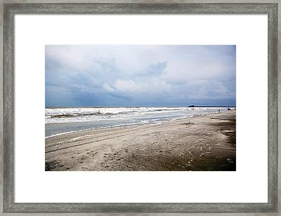 Framed Print featuring the photograph Before The Storm by Sennie Pierson