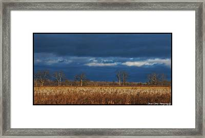 Before The Storm Framed Print by Vincent Dwyer