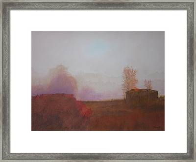 Before The Sun Breaks  Framed Print by Harvey Rogosin