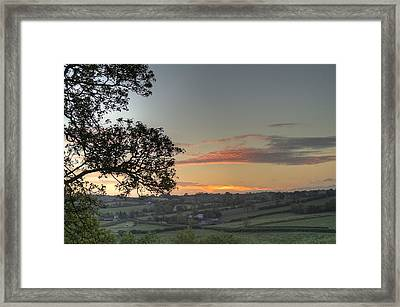 Before The Sunrise Framed Print by David Hollinger