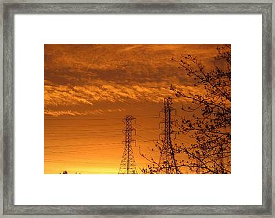 Before The Sunrise Framed Print by Rima Biswas