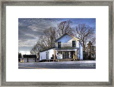 Before Walmart Framed Print by Benanne Stiens
