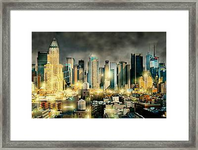 Begin And End With You Framed Print by Diana Angstadt