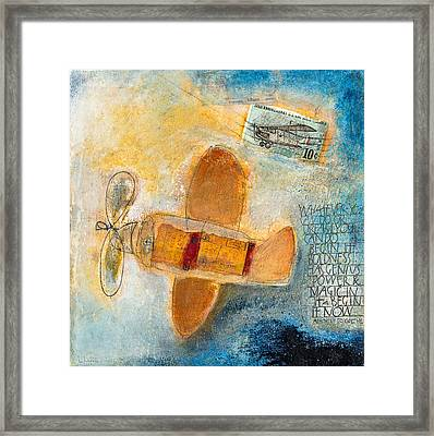 Begin Now Framed Print by Laurie Doctor