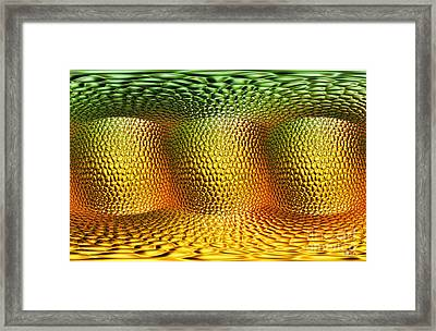 Begining Framed Print by Mo T
