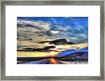 Beginning Again Framed Print by Vikki Correll
