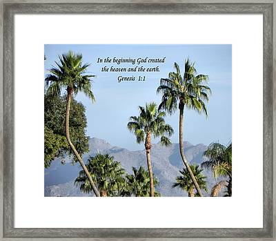 Framed Print featuring the photograph Beginning by Deb Halloran