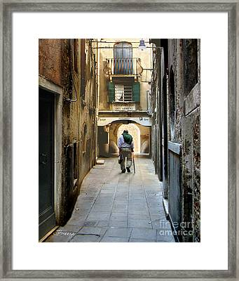 Framed Print featuring the photograph Beginning Of An End by Jennie Breeze