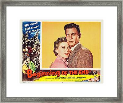 Beginning Of The End 1957 Framed Print by Mountain Dreams