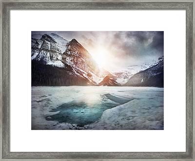 Beginning To Thaw Framed Print by Kym Clarke