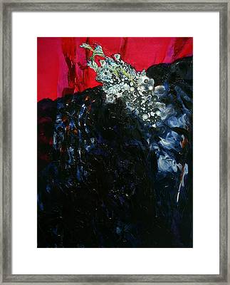 Framed Print featuring the painting Beginnings by Georg Douglas